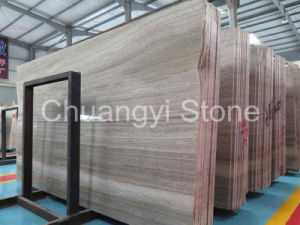 Chinese Grey Wood Marble for Wall and Flooring Tile