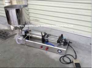 Semi-Auto Salad Filling Machine with Piston-Type Filling pictures & photos