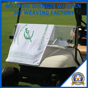 Soft Microfiber Sports Golf Towel pictures & photos