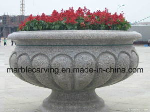 Large Granite Flower Planter Display in Square pictures & photos