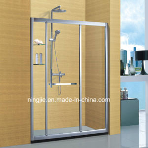 Custom-Made Size Aluminum Shower Cabin Shower Screen (A-871D) pictures & photos