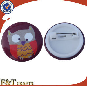 Promotional Advertising Gifts Plastic Tin Button Badge (FTBT2620A) pictures & photos