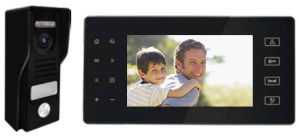 "New Design 7"" TFT Screen SD Card Menory Video Intercom System with High Quality pictures & photos"