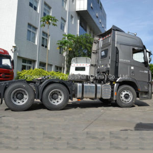 6X4 410HP Sichuan Hyundai Heavy Duty Tractor Truck pictures & photos