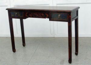 Elegant Side Table Antique Furniture with Drawers