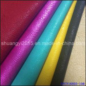 PU Leather for Shoes New Design pictures & photos