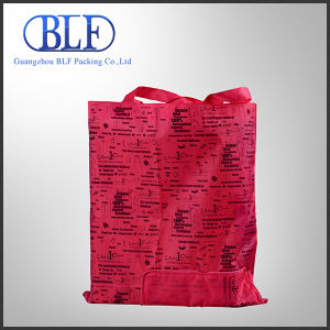 Custom Pink Pattern Printed Recycled Non Woven Shopping Bag pictures & photos