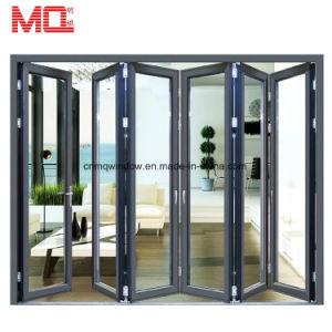 Thermal Break Aluminum Balcony Folding Doors Price Glass Stacking Door  sc 1 st  Guangzhou MingQi Door \u0026 Window Co. Ltd. & China Thermal Break Aluminum Balcony Folding Doors Price Glass ...