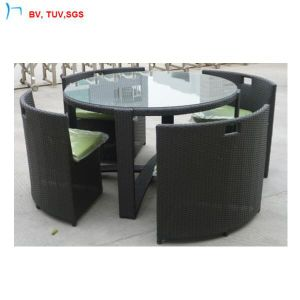 C Saving E Modern Rattan Dining Round Table And Chair