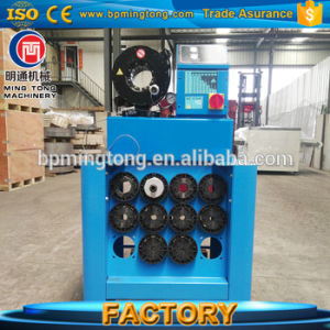High Pressure Export Standard Rubber Finn Power P32 P52 Hose Crimping  Machine