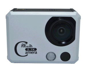 16MP 2.7k Waterproof WiFi Action Camera with Remote Control