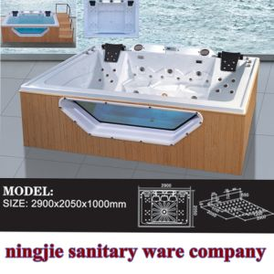 Outdoor Swining Whirlpool Massage SPA Bathtub (725) pictures & photos