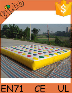 Hot Sale Inflatable Twister Game for Inflatable Twister Mattress