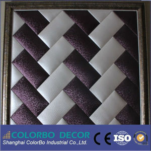 Leather Surface Fabric Acoustic Panel pictures & photos
