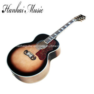 Hanhai Music / Tobacco Sunburst 43′′ Acoustic Guitar (SJ-200) pictures & photos