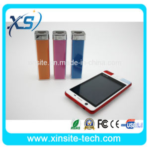Mobile Portable Legoo Lipstick Power Bank 2600mAh Power Bank on Sale (XST-PO40)