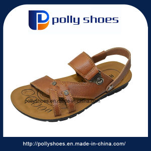 582ac9f4efba02 China Comfortable Summer Handmade Men Leather Sandals - China ...