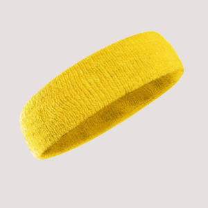 Absorbent Soft Custom Cotton Headband in Stock, Custom Size Hairturban for Fitness