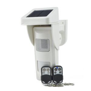 Motion Detector Alarm >> China Outdoor Solar Alarm Motion Detectors With Sound Light Alert