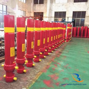 Dump Trailer Telescopic Hydraulic Cylinder