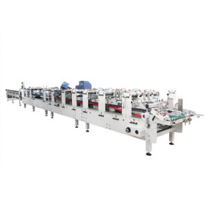 High-Speed Plastic Gift Box Packaging Carton Fully Automatic Folder Gluer Machine