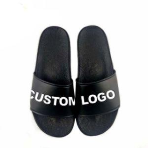 China Men Plain Slide Sandal Custom
