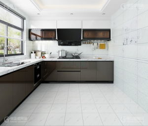 China Rak Grey Kajaria Lanka Flower Design Ceramic Wall Floor Tiles Kitchen China Kitchen Kitchen Wall Tiles
