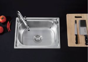 #304 Stainless Steel Kitchen Sink Ub53106 pictures & photos