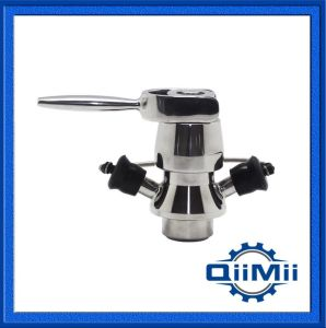 Stainless Steel 304 Sanitary Asepitc Sampling Valve for Food Grade pictures & photos