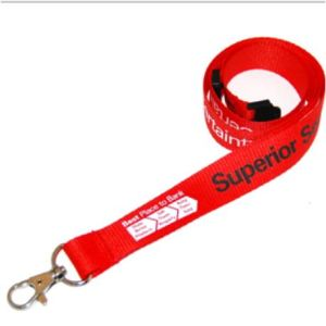 Custom Cotton Lanyard for Promotion Gift pictures & photos