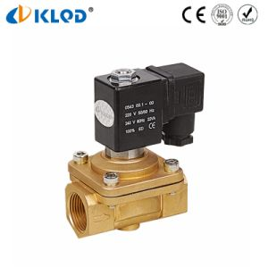 Direct Acting Brass Material 24V Solenoid Valves for Gas pictures & photos