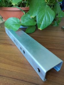 China Hot Dipped Galvanized Lip Strut C Channel