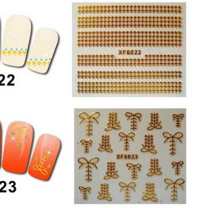 Private Label 3D Metal Nail Sticker More Design Avaiable pictures & photos