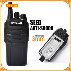10W VHF or UHF Handheld Anti-Shock Two Way Radio