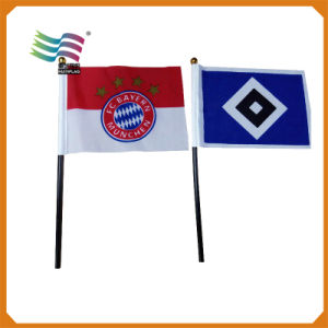 Tiny Soccer Fans Hand Flag with All Kinds of Materials pictures & photos