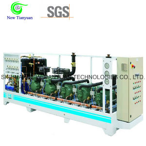 0.05-1.5MPa Pressure Boosting Gas Compressor for Oil Field Industry
