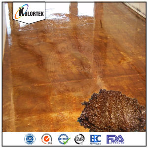 Eye-catching Dramatic Metallic Pigments for Concrete Flooring pictures & photos