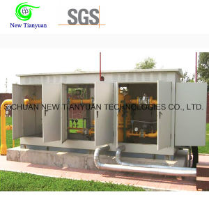 Skid Mounted Type Natural Gas Pressure Reducing Mobile Station