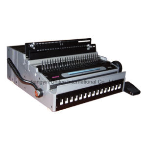 Hot Sale Popular Design Electric Comb and Wire Book Binding Machine HP-8808