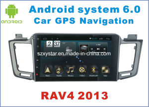 New Ui Android 6.0 Car Tracker for Toyota RAV4 2013 with Car GPS Navigation