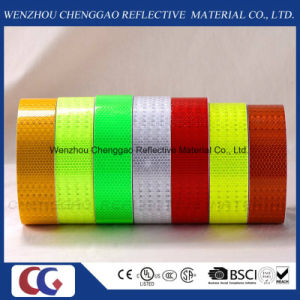Roadway Safety Pvc Prystal Lattice Car Body Reflective Sticker Road Traffic Warning Self-adhesive Reflective Tape Reflective Material