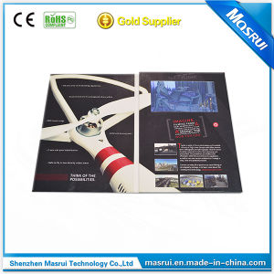 Mini Video Advertising Display Video Brochure for Promotion Gift