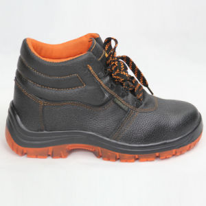 Work Safety Shoes (double color Rubber sole) pictures & photos