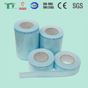 Flat Sterilization Roll / Reel / Tubing Medical Packaging