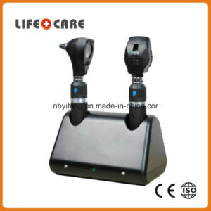 Medical Rechargeable Diagnostic Set with Ophthalmoscope and Otoscope pictures & photos