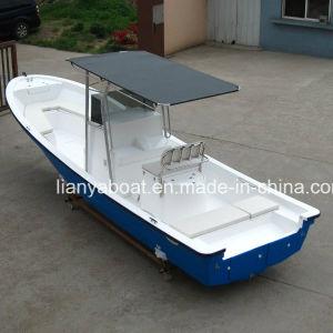 Liya 7.6m Fishing Yacht FRP Panga Boat Yacht for Sale