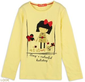 2014 Fashion New Design Printing T-Shirt for Children, Kids, Girls (YHR-13113)
