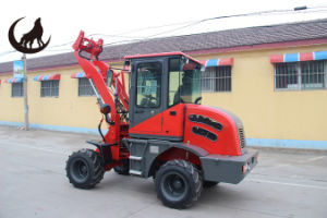 Agricultural Machine Equipment Zl10 Wheelloader Small Tractor of Front Loader pictures & photos