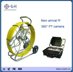 Pan & Tilt 360 Degree Camera Drain Inspection Camera pictures & photos