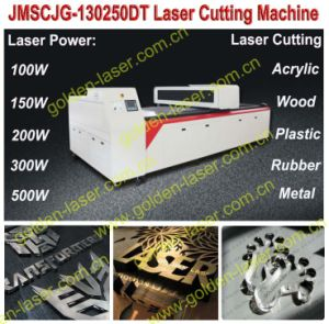 2mm Metal//25mm Wood Acrylic CO2 Laser Cutting Machine (JMSCJG-130250DT)